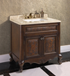 "Thailand Oak 36"" Single Bathroom Vanity WB-1536L from InFurniture"