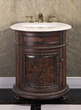 "Thailand Oak 24"" Single Bathroom Vanity WB-2324L from InFurniture"