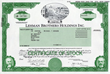 Art and Scarcity of Original Stock and Bond Certificates from...