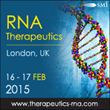 Speaker Line-Up for RNA Therapeutics 2015 Released