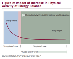 Impact of Increase in Physical  Activity of Energy Balance