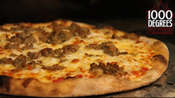The best meatball pizza you will ever eat!