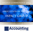 INPACT: Highly Commended in the Association of the Year category at the 2014 IAB Industry Awards