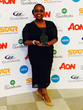 Tendai White collects the Highly Commended award in the Association of the Year category