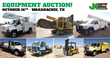Public Auto and Equipment Auction, Dallas, TX, October 16, 2014