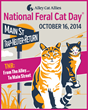 Animal Planet's Jackson Galaxy Stars in Alley Cat Allies' PSA for National Feral Cat Day