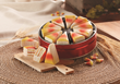 Candy corn lovers will enjoy the Candy Corn Pie Slices from swisscolony.com