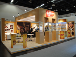 Bauducco's Exhibit at ISM 2014 by Absolute Exhibits