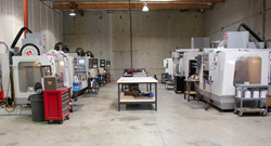 Forecast 3D's new CNC Machining department