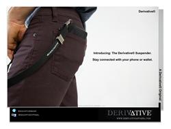 Derivative® Wallet & Phone Suspender