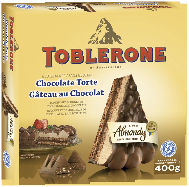 Canadian Celiac Association Certifies Toblerone Frozen