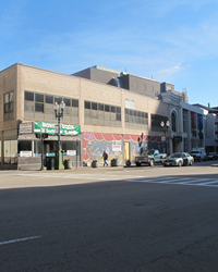 View of 551 Main St. from across the street.