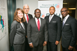 Ecobank and PGH join forces to enhance international development financing systems. Catherine Hein, PGH: David Pitts, Ecobank; Sebastian Ashong-Katai, Ecobank; Aron Betru, PGH; Charles Kie, Ecobank