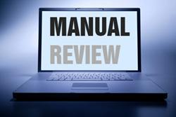 Manual Review Computer Image