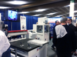 Students see live machine demos of CNC Routers at the SOCOM Expo 2014
