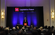 Mitch Feiger, President & CEO, MB Financial, Inc. addresses audience