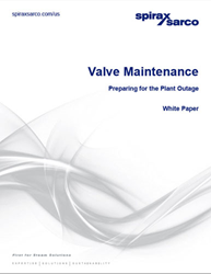 Valve Maintenance - Preparing for the Plant Outage white paper