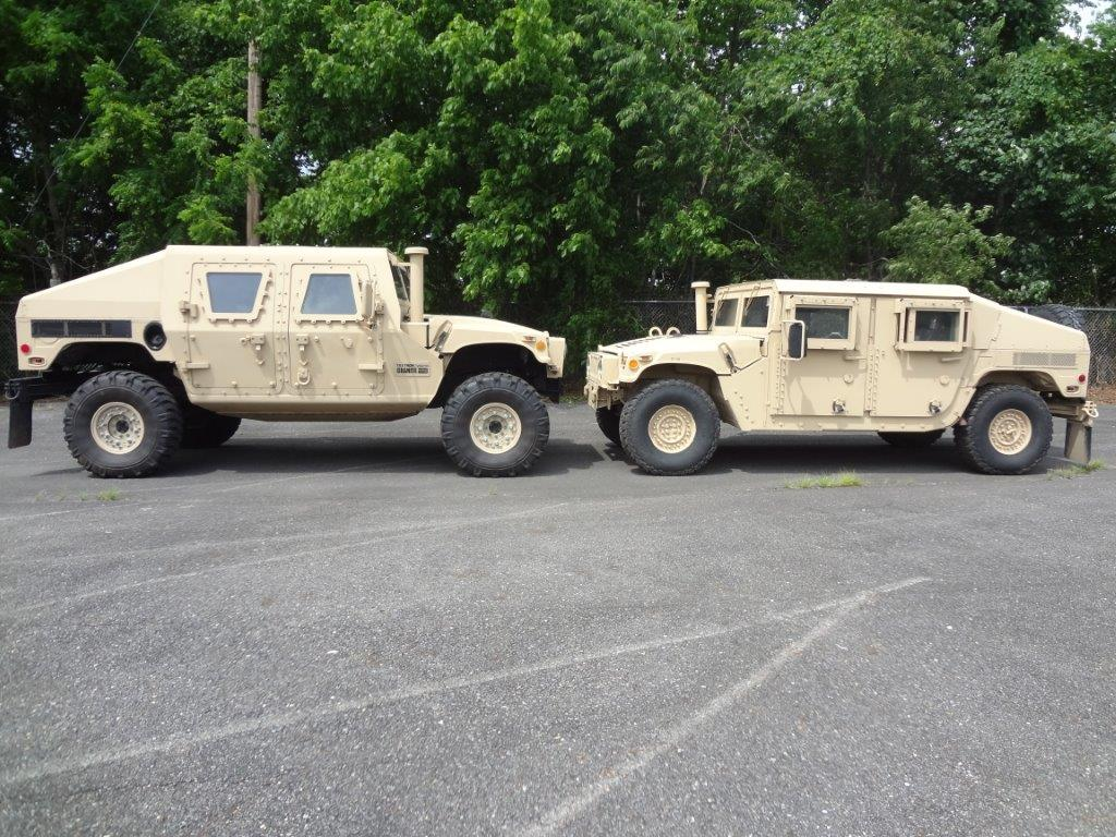 Humvee Front Axle : Granite tactical vehicles inc displays armored vehicle at