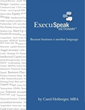 'ExecuSpeak Dictionary' by Carol Heiberger Gives Readers Key to...
