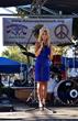 Carla Gonzalez speaking at The Amanda Network Anti-Bullying campaign, San Jose, CA.