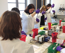 Hands-on Lab Training with Saliva Assays