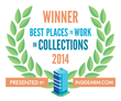 ConServe has once again attained the distinction of being among the Best Places to Work in Collections