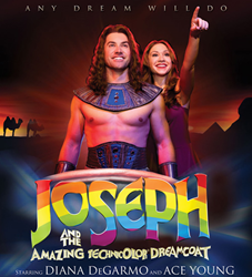 Diana DeGarmo and Ace Young in Joseph