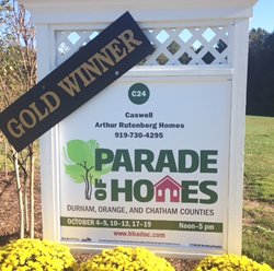 The Caswell Model Wins Gold At Parade of Homes