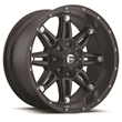 Fuel Off-Road Hostage D531 Series Black Wheels