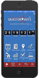 Galveston Votes Mobile Election App