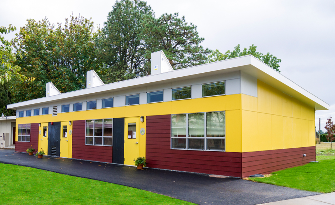 Modular Classroom Portland Oregon ~ Corvallis waldorf school receives the first sage energy