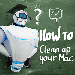 "First webinar titled ""How to clean up your Mac effectively"""