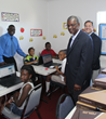 People's Trust donates laptops to the students at Cathedral Community Development Corporation (CCDC)