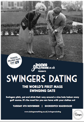 The worlds first mass swinging date from DoingSomething.co.uk
