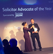 Adam Tear Law Society Solicitor Advocate of the Year 2014