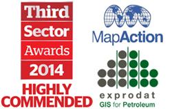 MapAction Charity Award