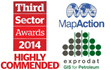 Exprodat Supports Small Charity Big Achiever, Map Action