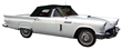 . It's a white, beautifully restored 1957 Ford Thunderbird convertible, with just 769.2 miles  est. $30,000-$40,000