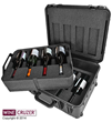 WineCruzer 8-Pack PRO Protective Travel Case Is Proven Top Wine Sales...