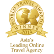"Rovia Named ""Asia's Leading Online Travel Agency"" at 2014 World Travel Awards Ceremony in New Delhi"