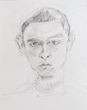 Elizabeth Josephson's Portrait  Drawing of Young Inmate