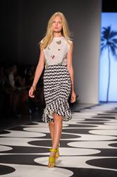Nicole Miller Spring/Summer 2015 Collection, Mercedes-Benz Fashion Week, Photographer: Jane Kratochvil