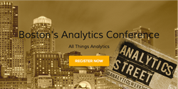 AnalyticsStreet | Analytics Big Data Cloud & Discovery Boston Conference