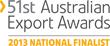 Australian Export Finalist 2013