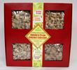 praline pecans, all natural, kettle cooked, orange almonds, cinnamon pecans