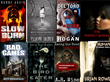 Composite Image of Sample Horror Selection at FreeeBooksDaily.org