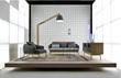 Theo sofa & credenza by Contempo Italy