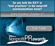 Entry Deadline for PR News' Nonprofit PR Awards is Friday, Oct. 17
