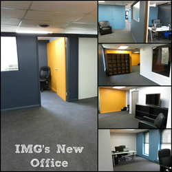 IMG has relocated to a new office to support its rapid expansion