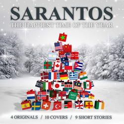 Sarantos 1st Christmas album music CD release 2014 Holiday Song Classics Cover Short Story Soft Rock Pop